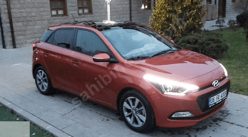 mercan rengi 2015 model hyundai i20