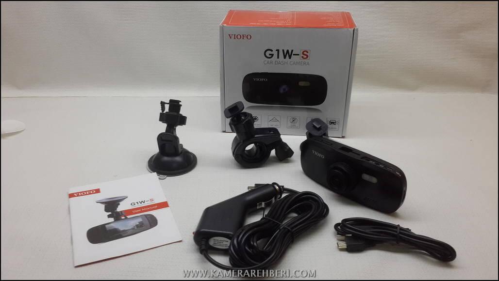 Viofo G1W-S Araç Kamerası - Banggood