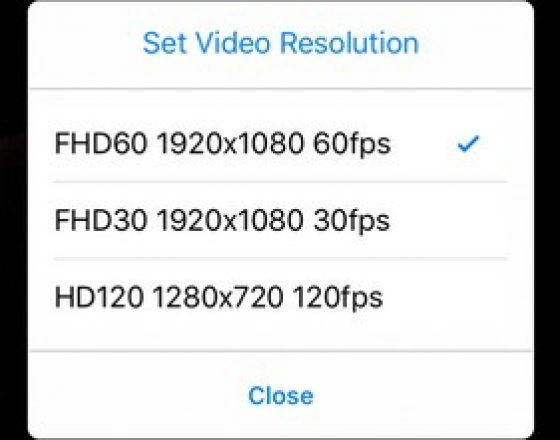 G50 Aksiyon Kamerası wifi 3