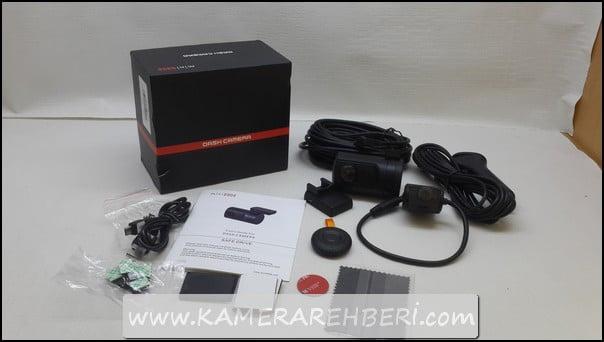 Mini 0906 Çift Kameralı Araç Kamerası
