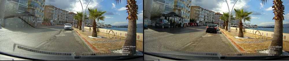 Mini 0806S Araç Kamerası CPL Filtre