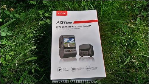 Viofo A129 Duo Çift Kameralı GPS'li Araç Kamerası - MaxiTekno