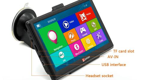 Junsun D100 Multimedia Sistemi