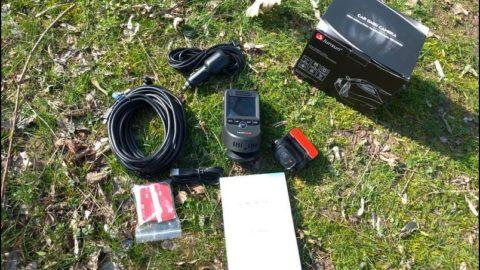 Junsun S590 Çift Kameralı Araç Kamerası