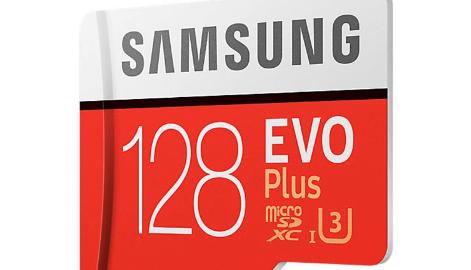 Samsung Evo Plus 128 GB U3 Hafıza Kartı