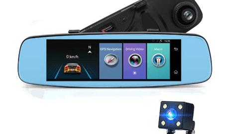 Junsun A880 Ayna Araç Kamerası - Banggood