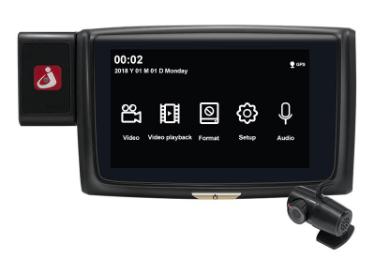 Junsun S660 4.0 Inch Araç Kamerası İndirim Kuponu - Banggood