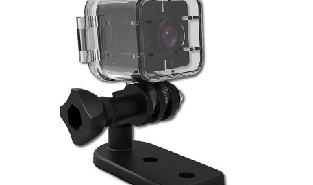 SQ12 Mini Kamera + Su Geçirmez Kap - Banggood