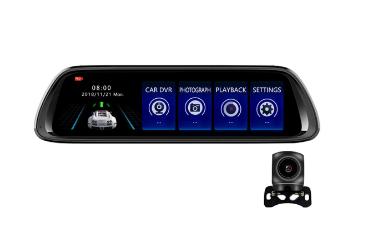 10 tums 1080P Ayna Araç Kamerası - Banggood