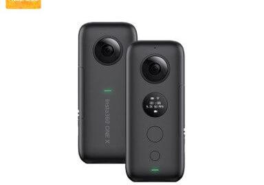 Insta360 ONE X 5.7K VR 360 Panoramic Aksiyon Kamerası