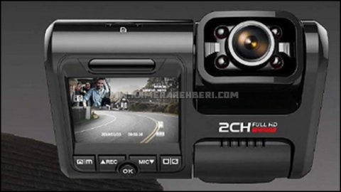 Pruveeo D30H Ön+İç Araç Kamerası - Gece Görüşlü
