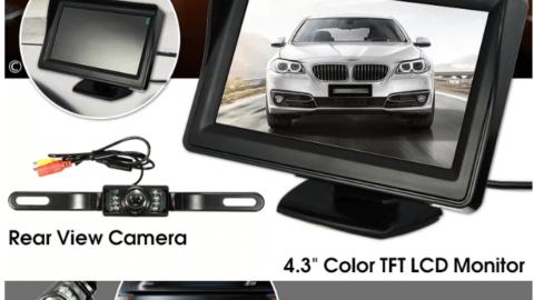 4.3 inç Ekranlı Geri Görüş Kamerası