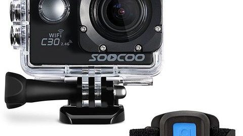 SOOCOO C30R WiFi 4K Aksiyon Kamera 20MP Gyro Kumandalı