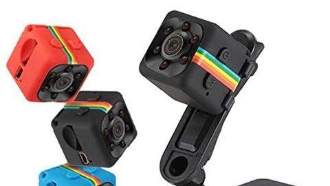 SQ11 Gece Görüşlü Mini Video Kaydedici Kamera - MaxiTekno