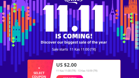 Aliexpress 2$ İndirim Kuponu - 2019