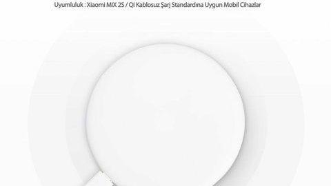Xiaomi Mi Kablosuz Hızlı Şarj Cihazı