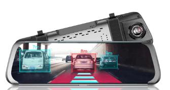 Junsun A930 Çift Kameralı Dikiz Aynalı Araç Kamerası