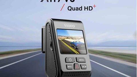 Viofo A119 V3 GPS'li Akıllı Araç Kamerası
