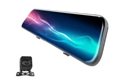 Anytek A9 2K Çift Kameralı Dikiz Aynalı Araç Kamerası - Aliexpress