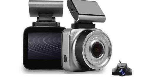 Anytek Q2 Full HD Çift Kameralı Araç Kamerası