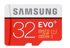 Samsung EVO Plus 32GB Hafıza Kartı