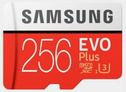 Samsung EVO Plus 256GB Hafıza Kartı